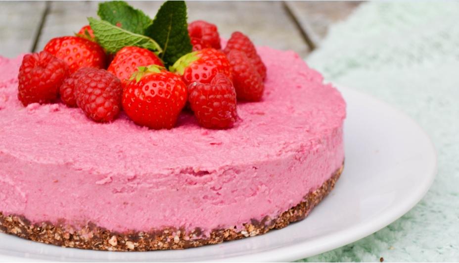 Red velvet taart no bake