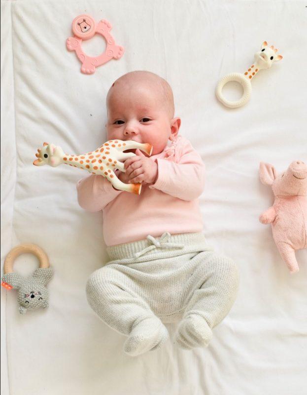 spelen met baby 8 maanden