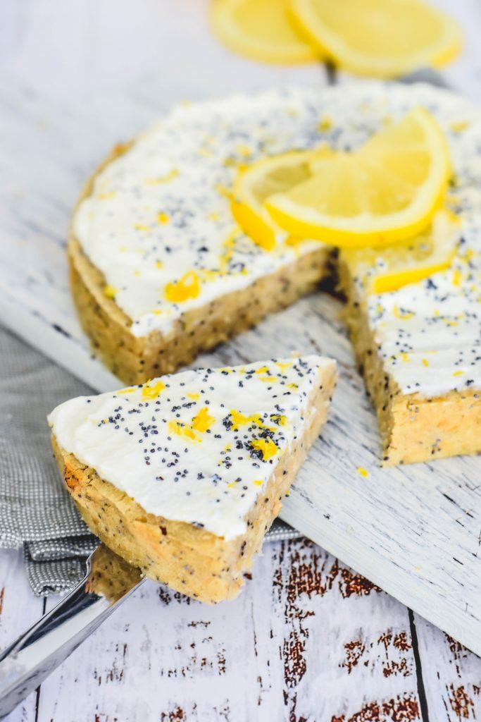 lemon poppyseed havermout taart
