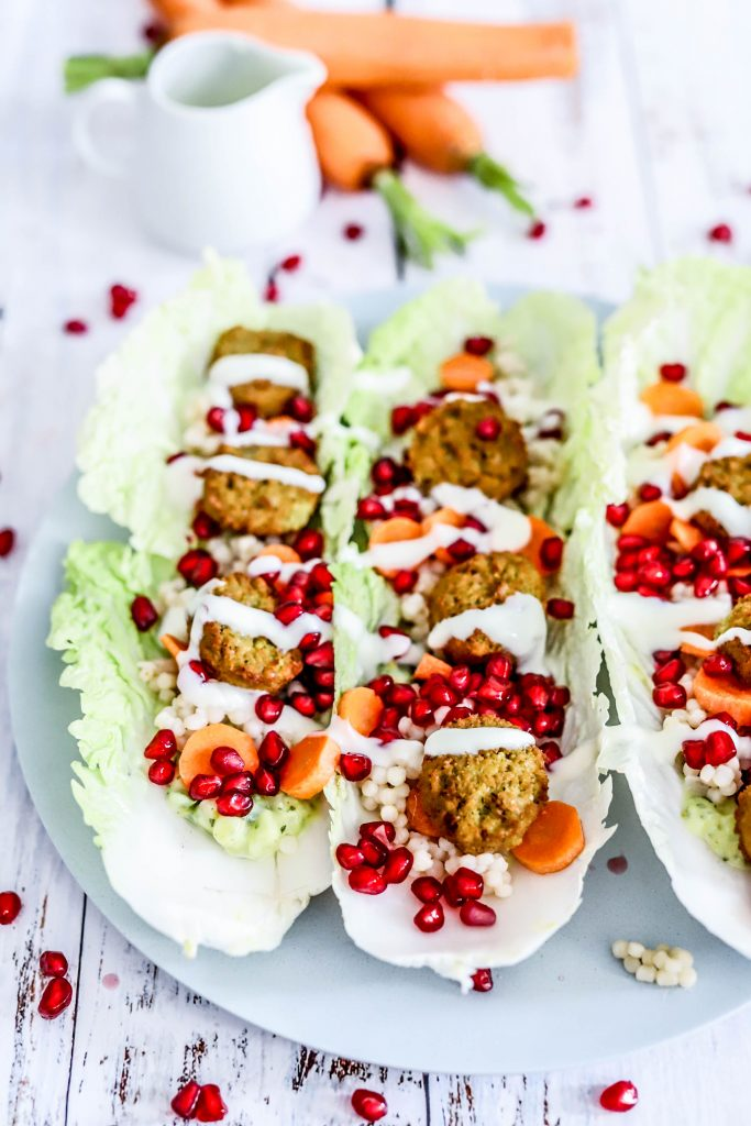 slawraps met falafel