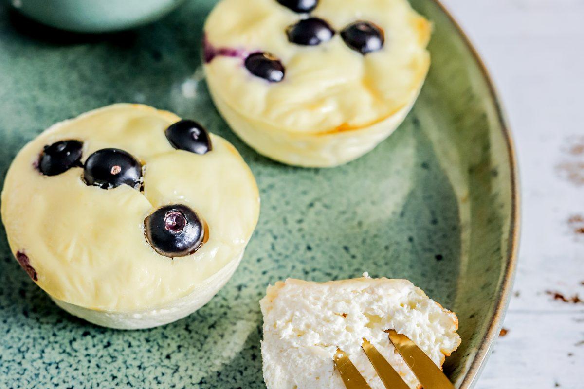 Eiwitrijke cheesecake bites