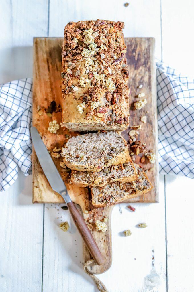 Granola brood. Suikervrij!
