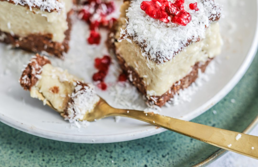 Bounty taart no bake