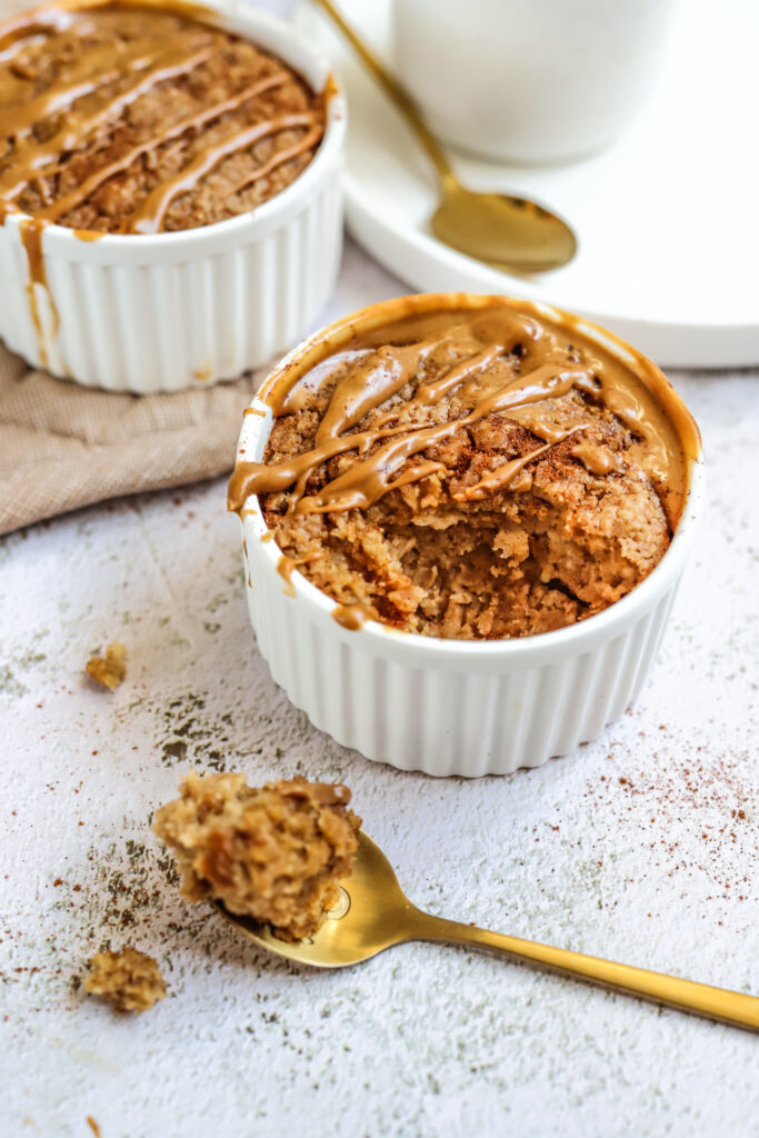 Baked oats speculoos